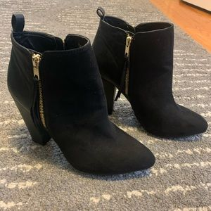 Target booties zip up